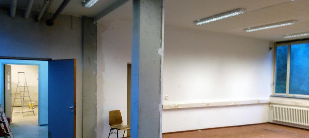 Renovierung Grundschulbetreuung Weinheim