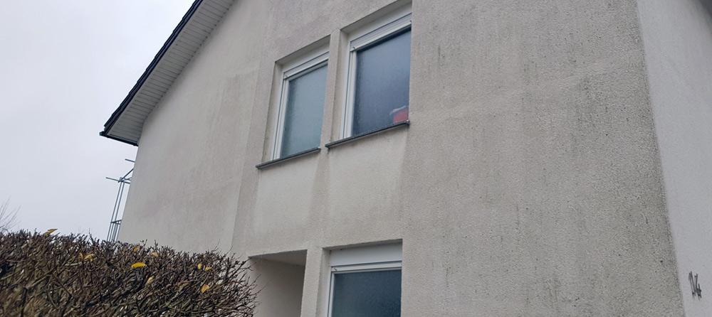Fassade vor der Renovierung