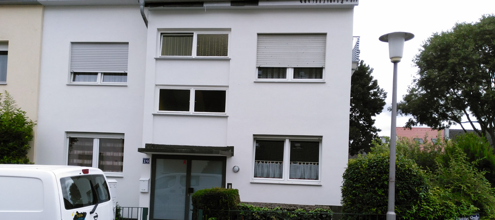 Fassaden-Neugestaltung