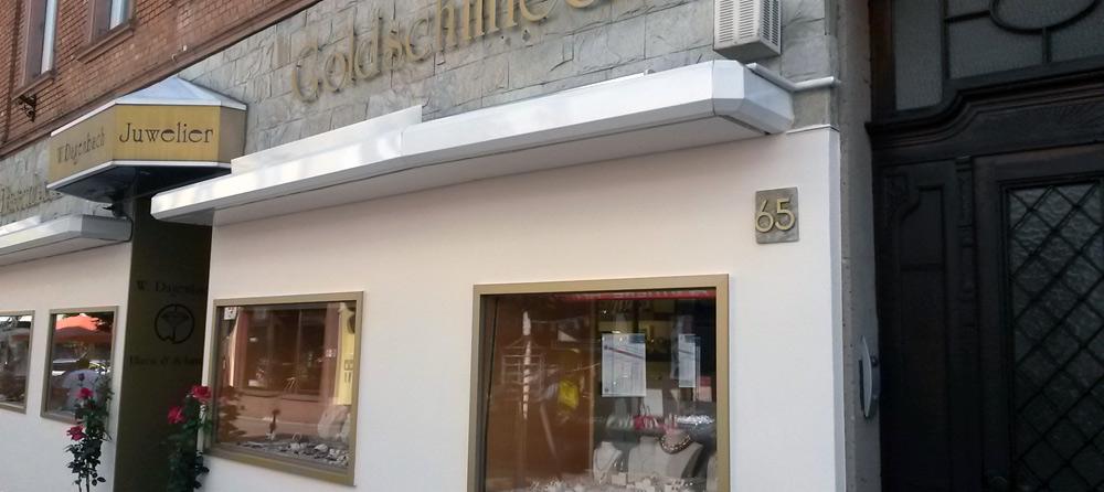 Fassadengestaltung nach der Sanierung