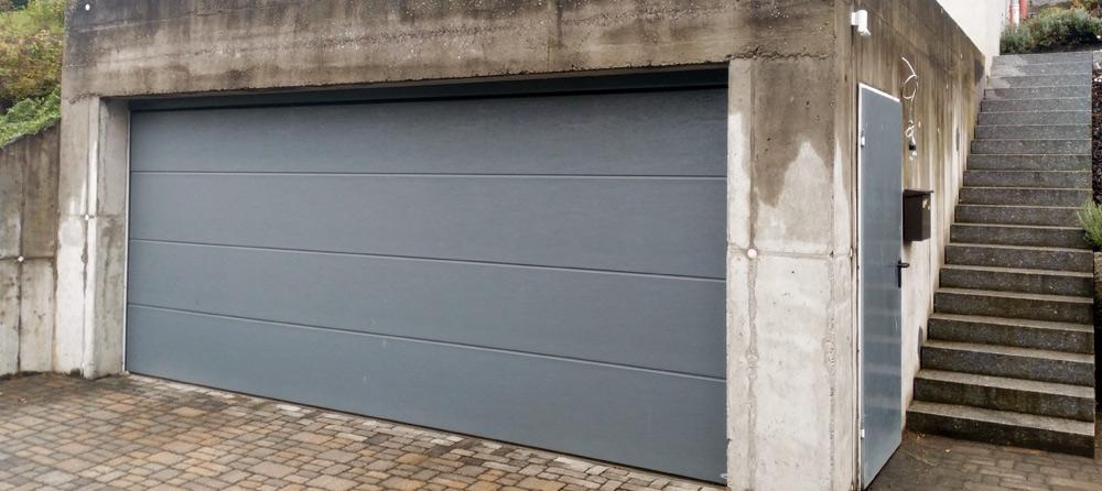 Garage vor dem Verputzen