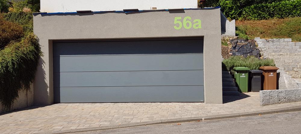 Garage nach Neugestaltung