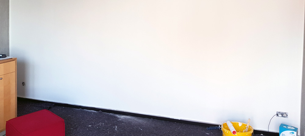 Wandbelag magnetische Tapete