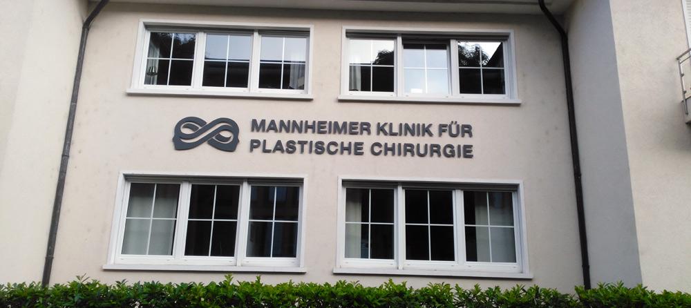 Aussenarbeiten – Plastische Chirurgie Mannheim